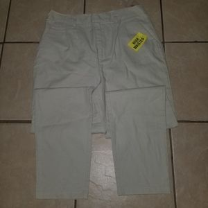 FOREVER 21 High Waisted Woven Tan pants 29